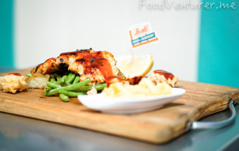 Honey Pepper Chicken & Shrimp - Locale Diner PIK