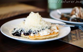 Blueberry Pancake with Cheese - Blueberry Pancake House - Hotel Cipta Jakarta