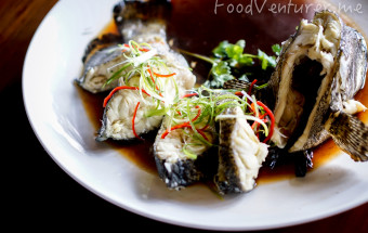 Steamed Grouper - The Hook Restaurant & Bar - Jakarta