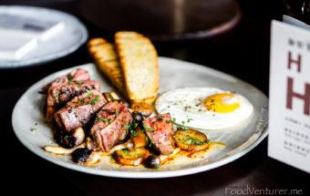 Steak and Egg - The Dutch Jakarta