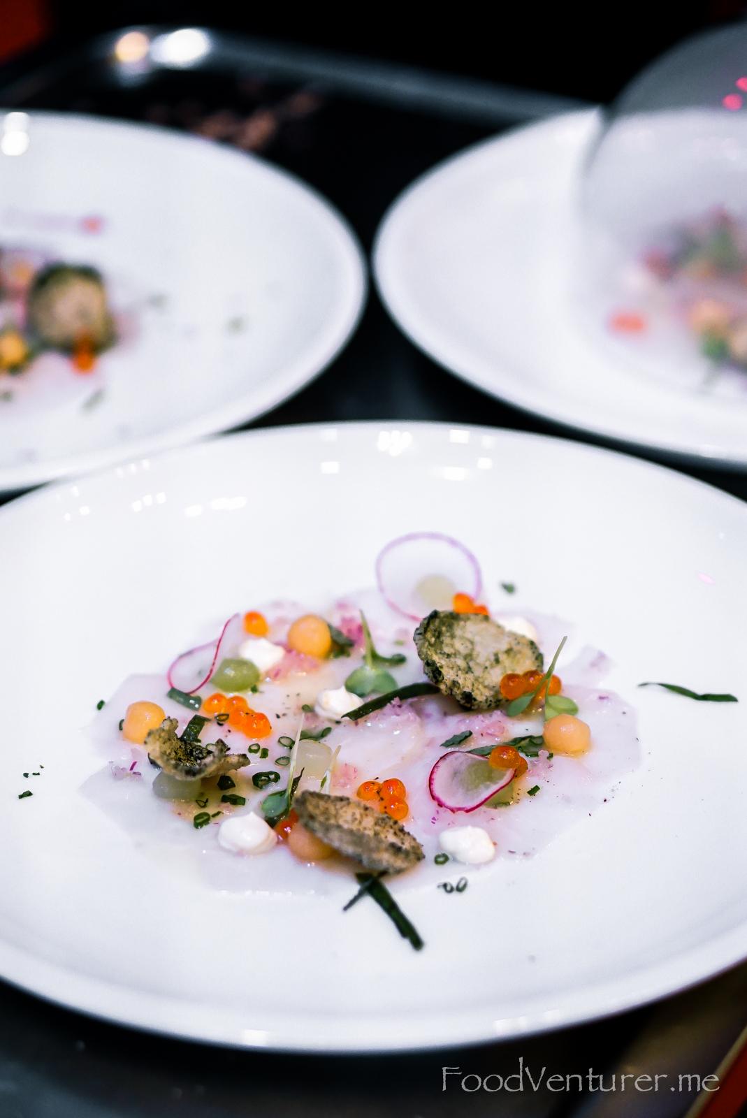 Smoked Gindara Carpaccio - Chef Chris Salans