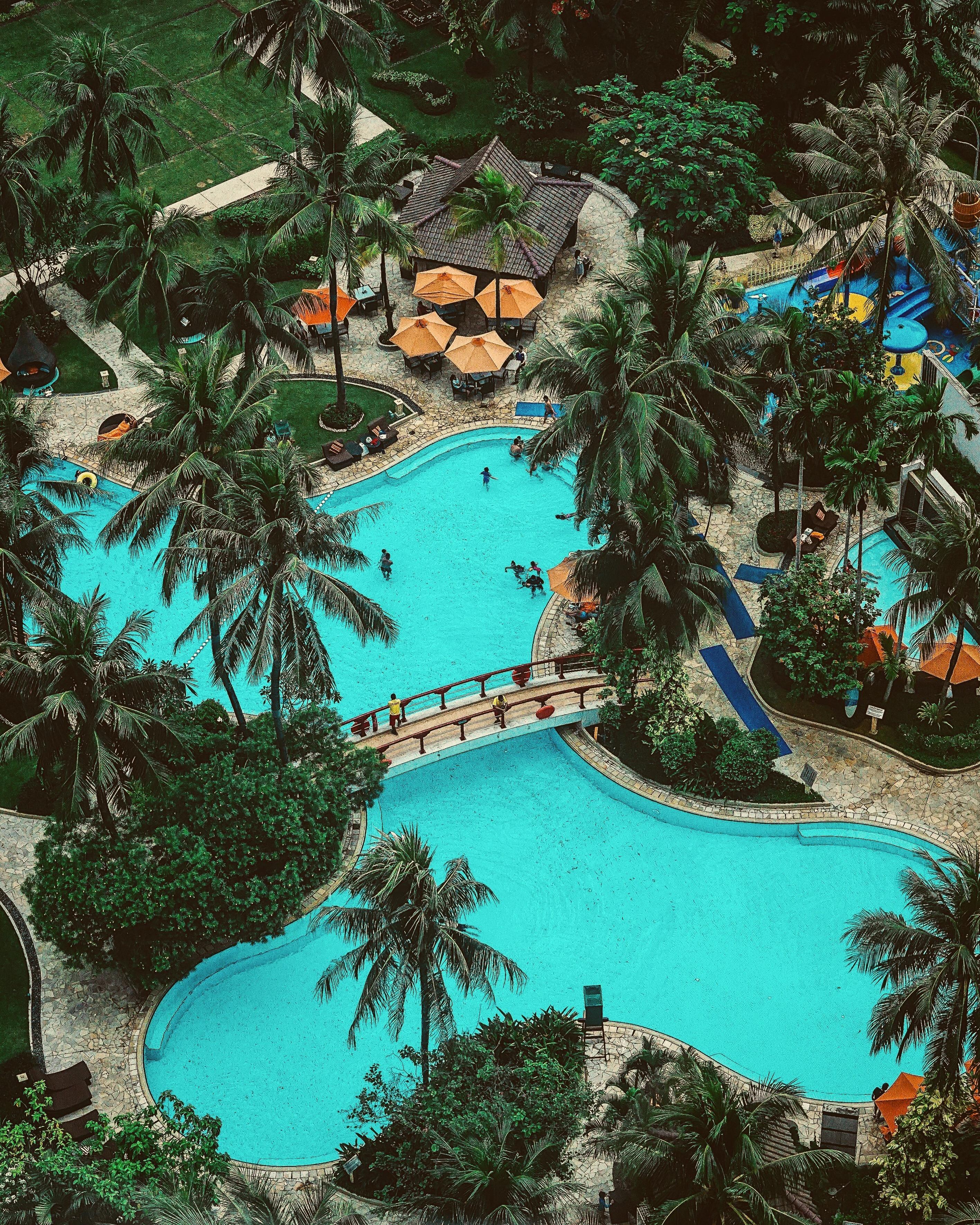 Lagoon Pool Shangri-La Hotel Jakarta