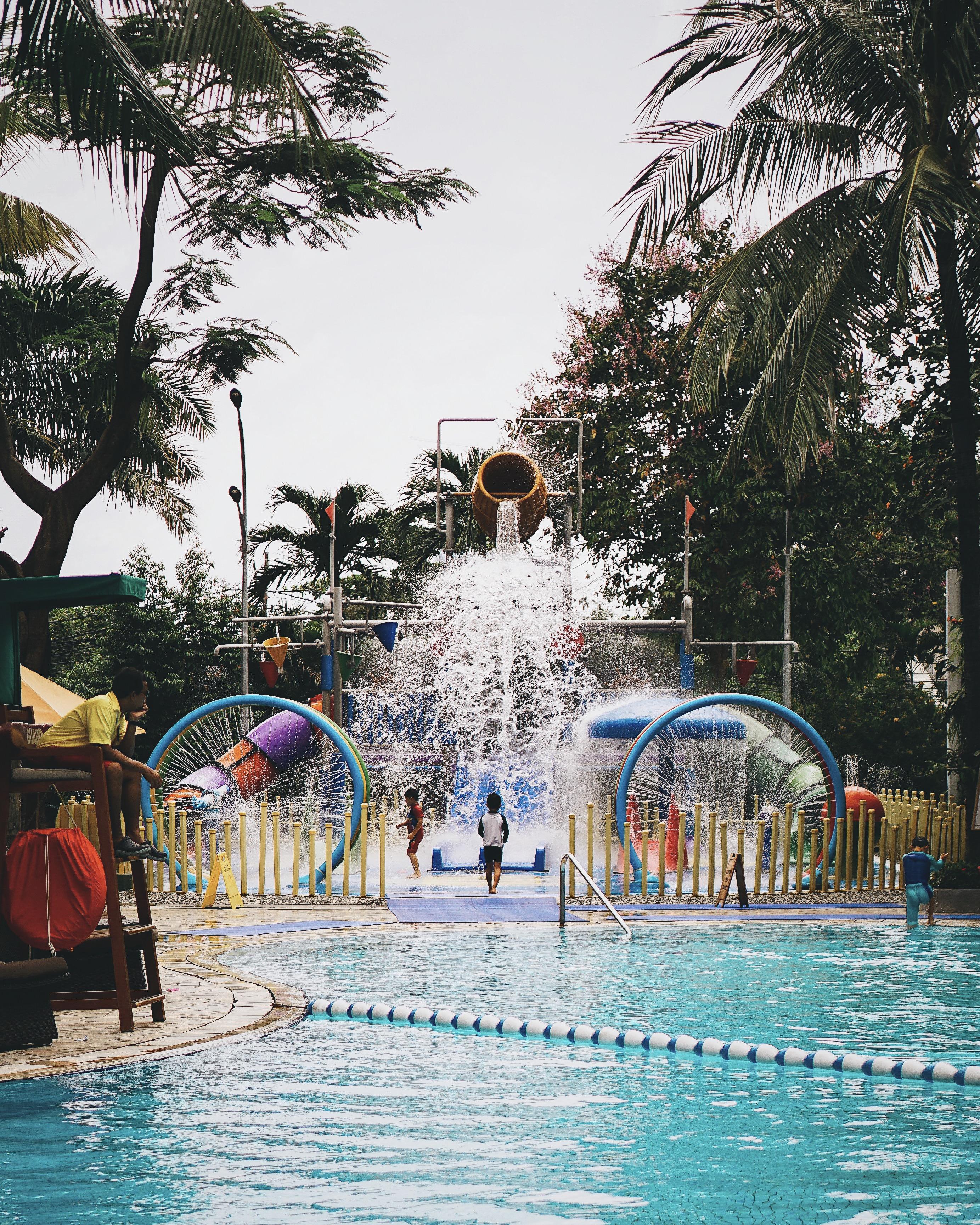 Aqua Playground - Shangri-La Hotel Jakarta